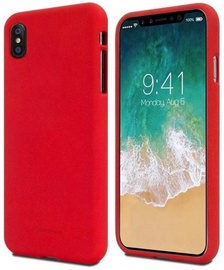 Mercury Soft feeling Matte Back Case For Apple iPhone 11 Pro Red