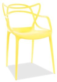 Стул для столовой Signal Meble Toby, желтый