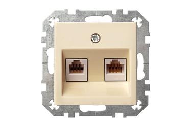 Liregus Epsilon Telecommunication Socket KL-002-01 Beige