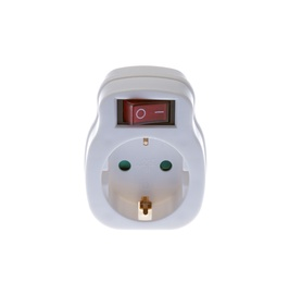 Okko KF-ZB-01/01K Plug with Switch White