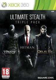 Xbox 360 spēle Ultimate Stealth Triple Pack: Thief, Hitman: Absolution And Deus Ex: HR Xbox 360