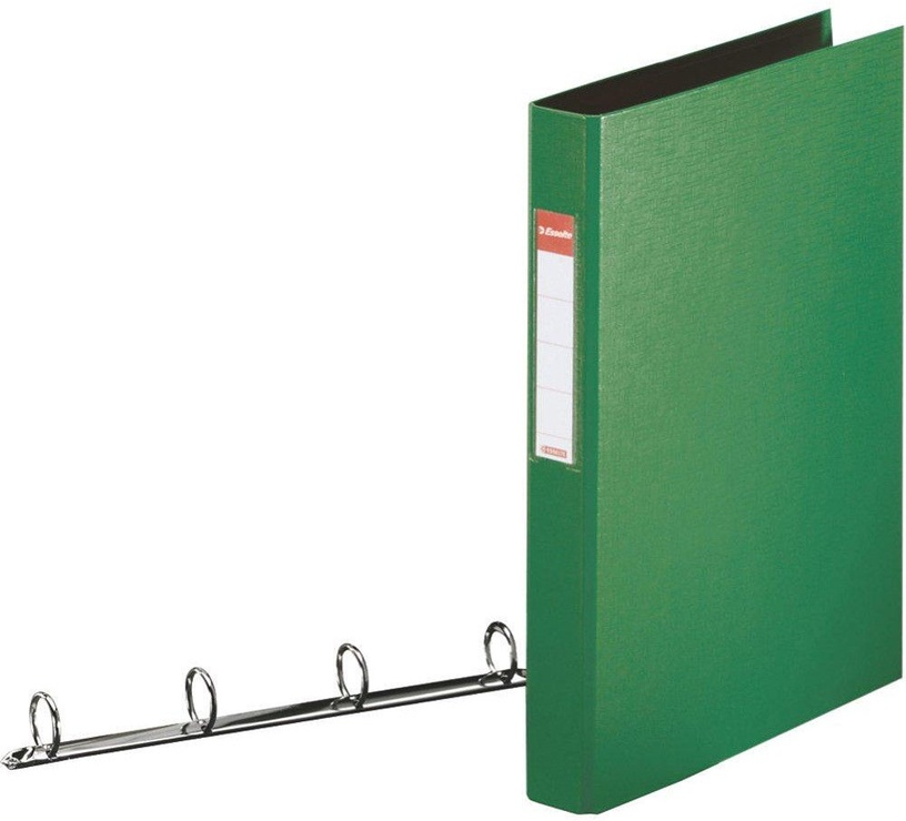 Esselte Folder 4 Rings 4cm Green