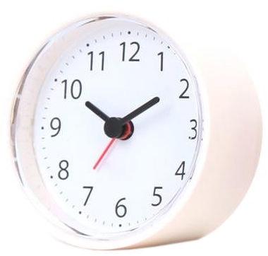 Platinet Sunday Alarm Clock White