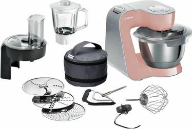 Virtuves kombains Bosch MUM58NP60 Pink/Silver