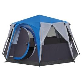 Telts Coleman Octagon 2000030279, zila/melna/pelēka
