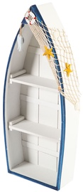 Home4you Shelf Beach House-2 Boat 26x60cm