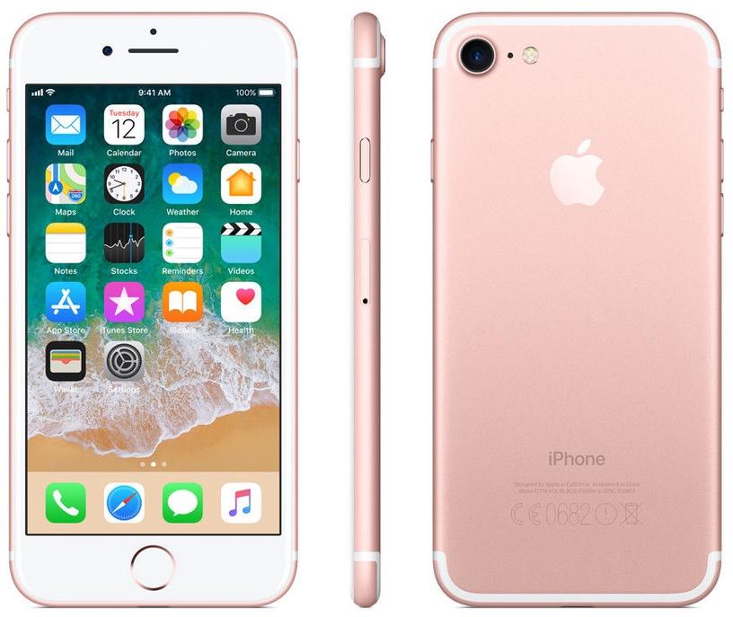 Mobilais telefons Apple iPhone 7 Rose Gold, 128 GB