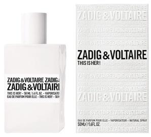 Парфюмированная вода Zadig & Voltaire This is Her! 50ml EDP