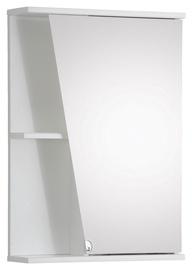 Vannas istabas skapītis Riva, balta, 13.5 x 49.6 cm x 70.2 cm