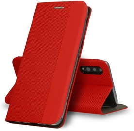 TakeMe Smart Magnetic Fix Book Case For Samsung Galaxy S20 Red