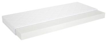 Матрас Black Red White Sirra White, 80x180 см