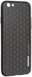 Remax Gentleman Honeycomb Series Premium Back Case For Apple iPhone 7 Black