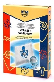 K&M Group Vacuum Cleaner Bags for Zelmer 4pcs + Microfilter