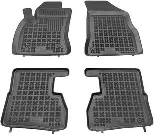 Резиновый автомобильный коврик REZAW-PLAST Fiat Doblo II 2009 7-Seats, 4 шт.