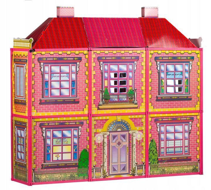 Leļļu māja EcoToys Villa With Furniture