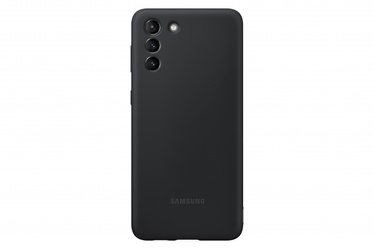 Samsung Silicone Back Case For Samsung Galaxy S21 Plus Black