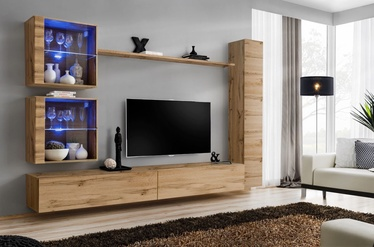 ASM Switch XVIII Wall Unit Wotan Oak