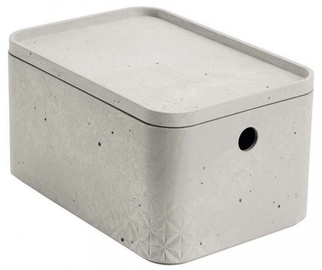 Curver Beton Box Rectangle With Lid S 3l Grey