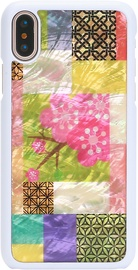 iKins Cherry Blossom Back Case For Apple iPhone X/XS White