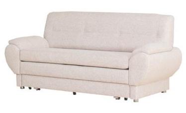 Диван-кровать Bodzio Livonia 3 Fabric Cream, 184 x 76 x 89 см