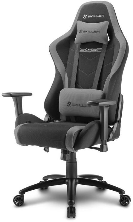 Spēļu krēsls Sharkoon Skiller SGS2, melna/pelēka