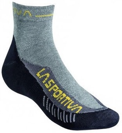 Zeķes La Sportiva TX Black/Yellow, XL, 1 gab.