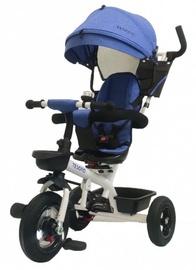 Трехколесный велосипед Tesoro BT-10, синий/белый