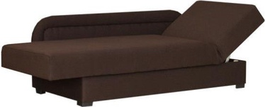 Dīvāngulta Bodzio Dawid Right Brown S1, 205 x 87 x 40 cm