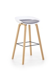 Барный стул Halmar H-86 White/Grey