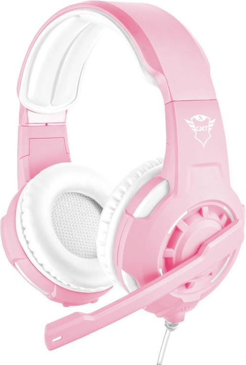 Игровые наушники Trust GXT 310, розовый