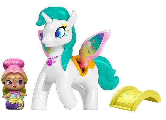 Rotaļlietu figūriņa Fisher Price Nickelodeon Teenie Genies Rainbow Genie And Zahracorn FPV97