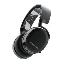 Spēļu austiņas Steelseries Arctis 3 Bluetooth Black, bezvadu