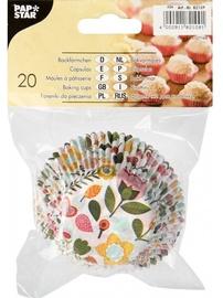 Pap Star Baking Cups 5cm Blomma 20pcs
