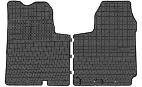 Резиновый автомобильный коврик Frogum Nissan Primastar / Opel Vivaro / Renault Trafic 2010 Front, 2 шт.