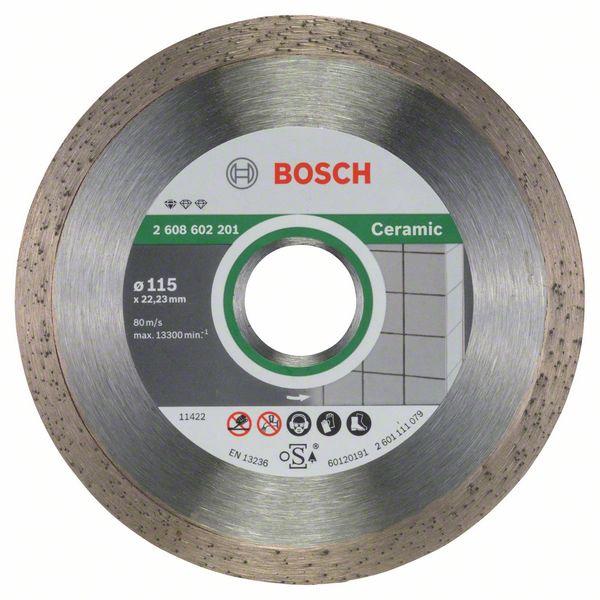 Griešanas asmens Bosch Diamond Cutting Disc 115x22x1.6mm