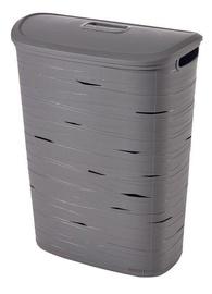 Curver Ribbon Laundry Hamper 49l Grey