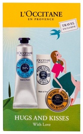L´Occitane Hugs And Kisses With Love 3pcs Set 42ml