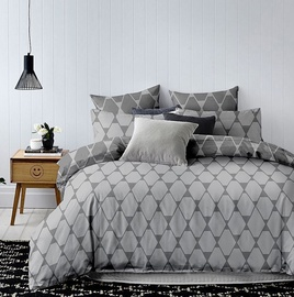 Комплект постельного белья DecoKing, серый, 140x200