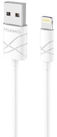 Usams U-GEE USB To Apple Lightning Cable 1m White