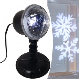 Niveda LED Christmas Projector IP44 White Snowflakes