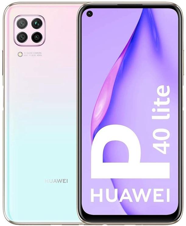 Mobilais telefons Huawei P40 Lite Sakura Pink, 128 GB