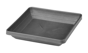 Plastia Pot Plate Lotos 40x40cm Grey