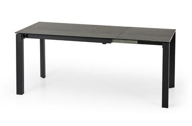 Pusdienu galds Halmar Horizon, melna/pelēka, 1200x850x760mm