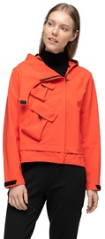 Audimas Women Waterproof Jacket With Mask Red M