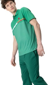 Audimas Mens Functional Polo Tee With Print Jolly Green L