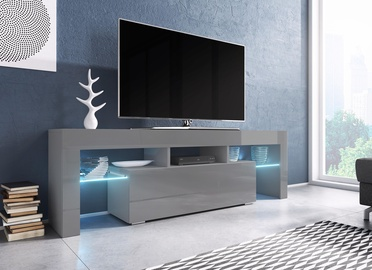 ТВ стол Cama Meble Toro 138, серый, 1380x400x410 мм