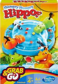 Настольная игра Hasbro Hungry Hungry Hippos Travel B1001