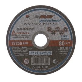 Griezējdisks metālam Luga Abraziv, 125x2,0x22mm