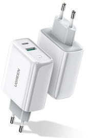 Ugreen USB/USB Type-C Quick Wall Charger White
