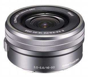 Sony E PZ 16-50mm F3.5-5.6 OSS Lens Silver